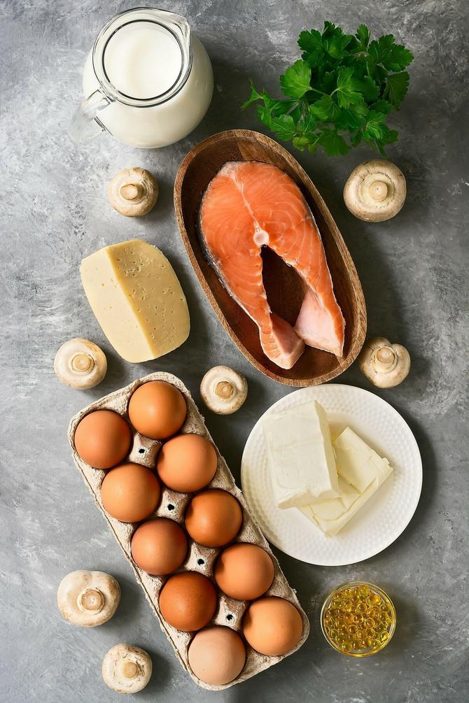 Evo nekih od namirnica u kojima postoji vitamin D
