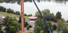 Wieża za 3 mln zł poszła do utylizacji