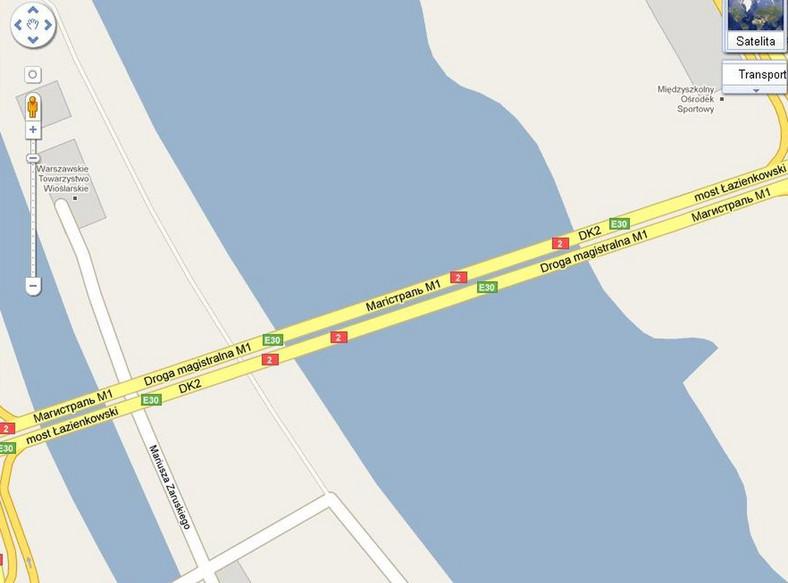 Rosyjska droga w śródmieściu Warszawy