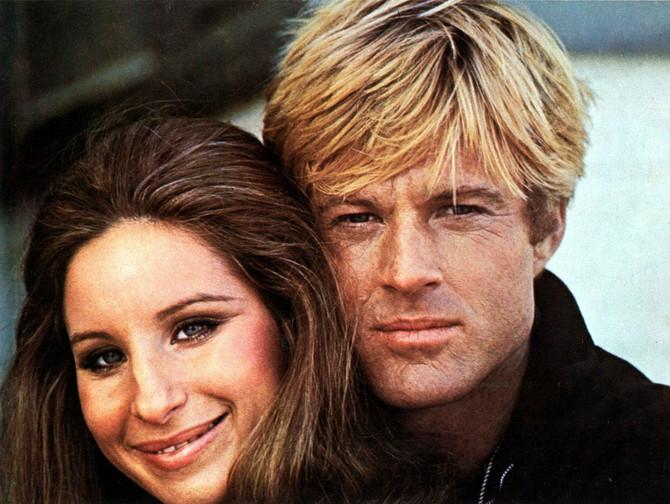 """Barbara Strajsend i Robert Redford u filmu """"Devojka kjou sam voleo"""""""
