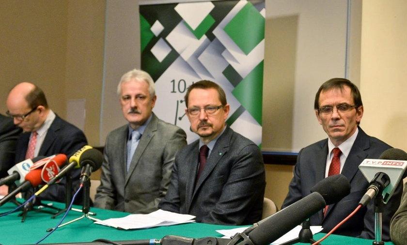 konferencja Porozumienia Zielonogórskiego w Warszawie