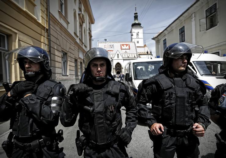 hrvatska zagreb policija
