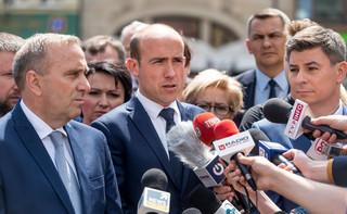 Schetyna: Wyniesienie Frasyniuka z demonstracji to efekt kompromitującej ustawy