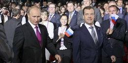 Putin chce być prezydentem, a Miedwiediew...