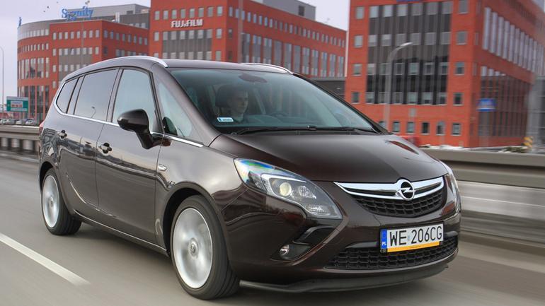 Opel Zafira Tourer: minivan dla rodziny