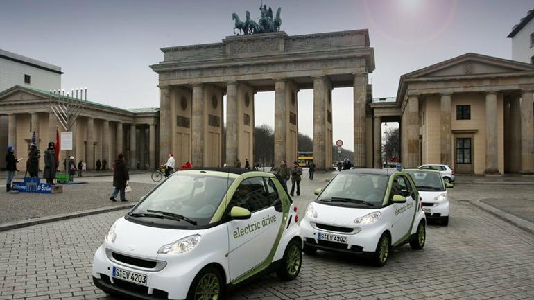 Auta elektryczne w Berlinie