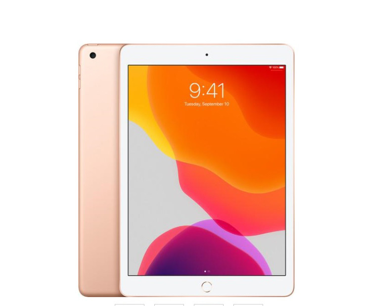 Apple iPad 10,2 7-gen 32GB złoty  - 6