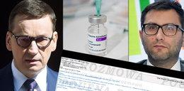 """Drogie szczepionki od pośrednika z Dubaju? Premier Morawiecki: """"Kupuj"""" [AFERA MAILOWA]"""