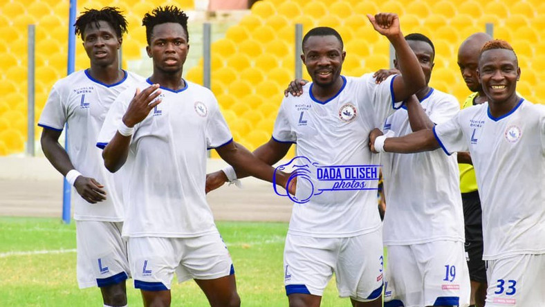 Berekum Chelsea earn first-ever win in Accra against Gt. Olympics ...