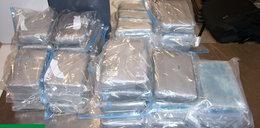 Wieźli 50 kg kokainy w walizkach. Nowe fakty