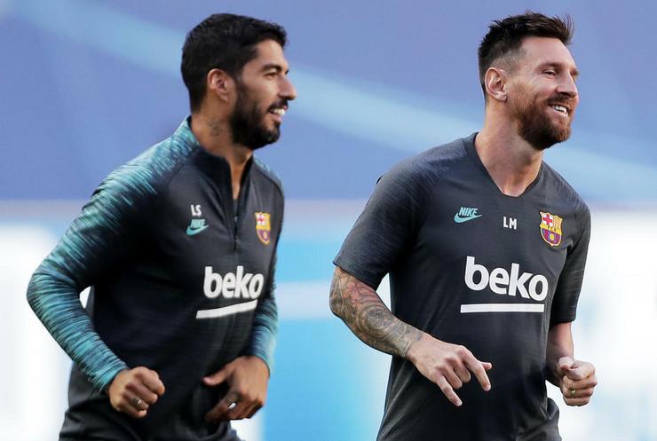 Luis Suarez i Lionel Mesi