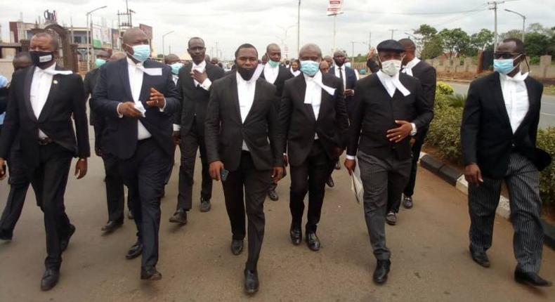Lawyers embark on 3-day court boycott over death of kidnapped colleague. [NAN]