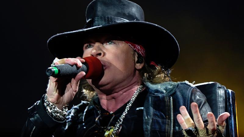 Axl Rose z Guns N' Roses