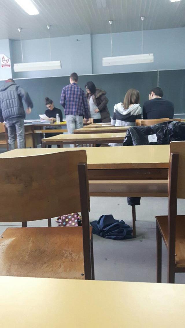Nadežda Pavlović sa studentima