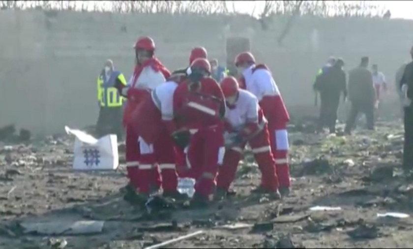PILNE. Ukraiński Boeing 737 ze 176 osobami na pokładzie rozbił się w Teheranie