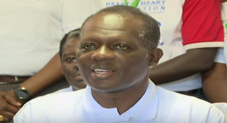 Raphael Tuju makes first public appearance since road accident, addresses press at Karen Hospital