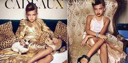 Seksowne zdjęcia tej dziewczynki wywołały skandal. Znów pozuje!