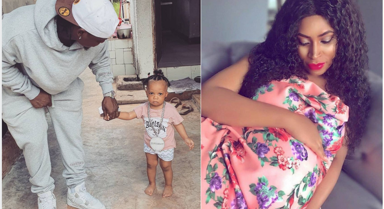 Harmonize introduces first born daughter, after a year of denying siring a baby out of wedlock