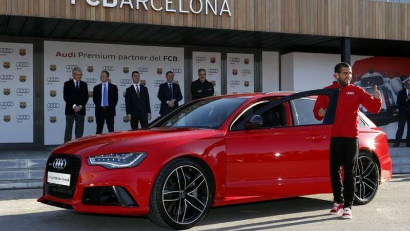 Audi dla zawodników Barcelony