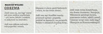 Wiersze Wyborcze Czyli Poezja Kampanii Prezydenckiej 2015