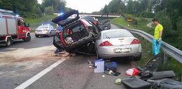 Groźny wypadek na A4. Mocne zdjęcia!