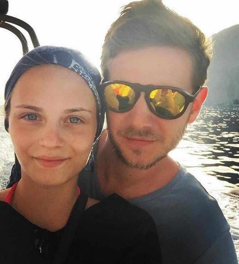 Kasia Sawczuk i Antoni Królikowski