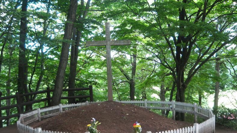 Grób Jezusa w Japonii