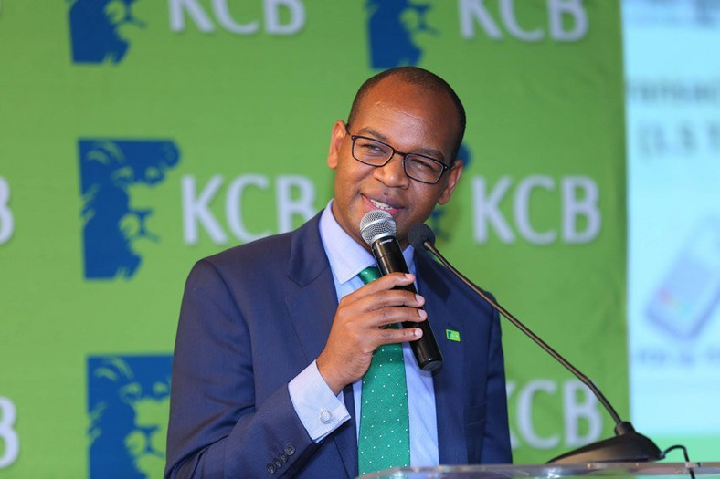 Kenya Commercial Bank boss Joshua Oigara