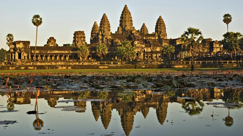 Znalezione obrazy dla zapytania Świątynie Angkor, Kambodża