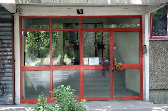 Zgrada u kojoj stanuje Zoran Grujić