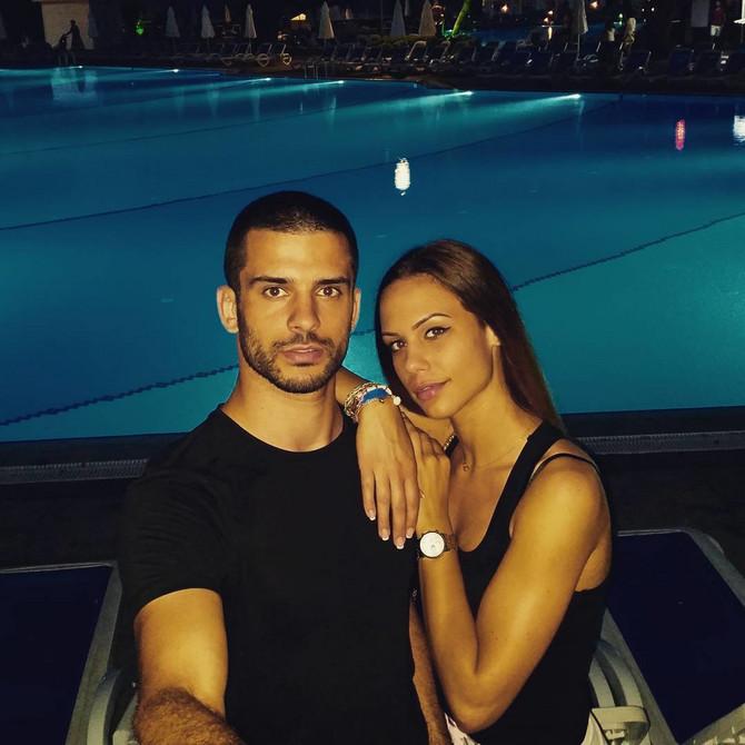 Branko Lazić sa suprugom Natašom