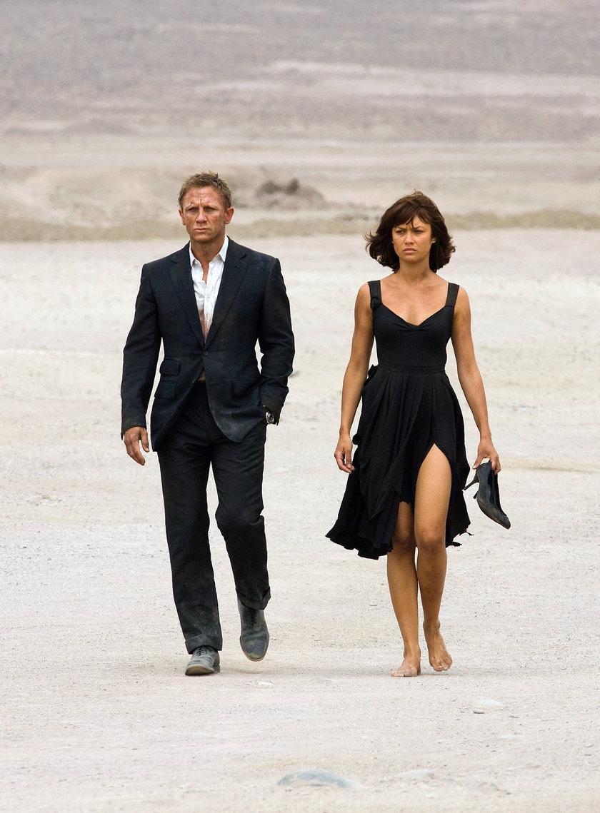 Daniel Craig i Olga Kurylenko