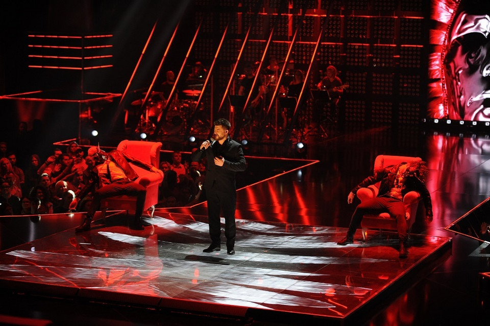 "Marcin Sójka w finale ""The Voice of Poland"""
