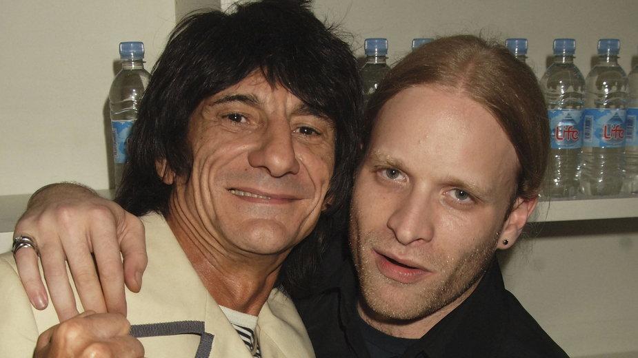 Ronnie Wood i Jamie Wood