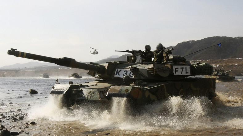 Podstawą wojsk pancernych Seulu jest czołg K1 oraz jego unowocześniona wersja K1A1 (w sumie 1,5 tys. egzemplarzy)