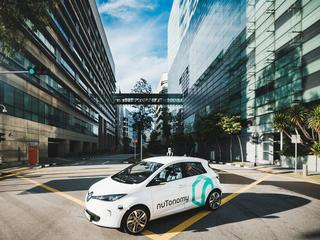 Driverless taxis take to the streets of Singapore in world's first sich public trial