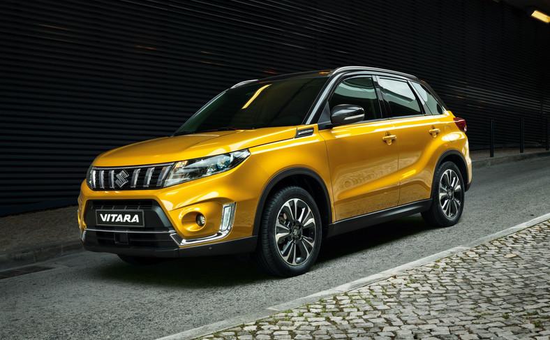 Suzuki Vitara po modernizacji prezentuje się bardziej dystyngowanie