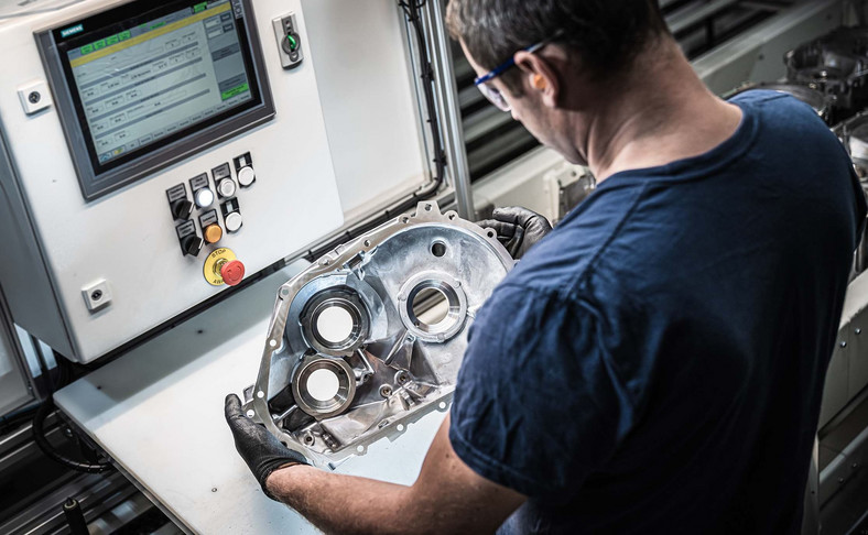 Volkswagen Poznań ruszył z produkcją seryjną elementów obudowy przekładni silnika modelu ID.3