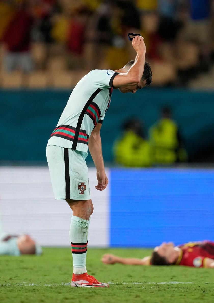 Cristiano Ronaldo (36 l.) nie znosi przegrywać i nieraz w takich sytuacjach nie wytrzymuje nerwowo.