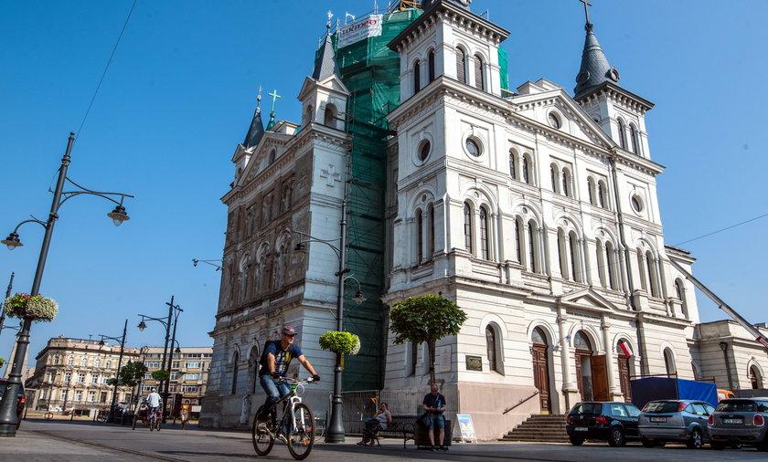 Kościół zmienia oblicze. Parafia Zesłania Ducha Świętego przy Placu Wolności w Łodzi odzyska kolor sprzed 125 lat