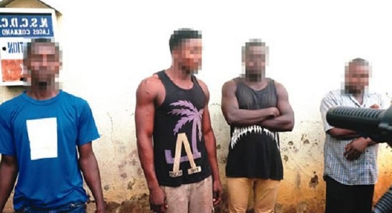 The rape suspects