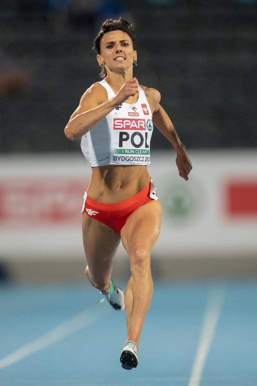 Kiełbasińska to także halowa mistrzyni Europy w sztafecie 4x400 m