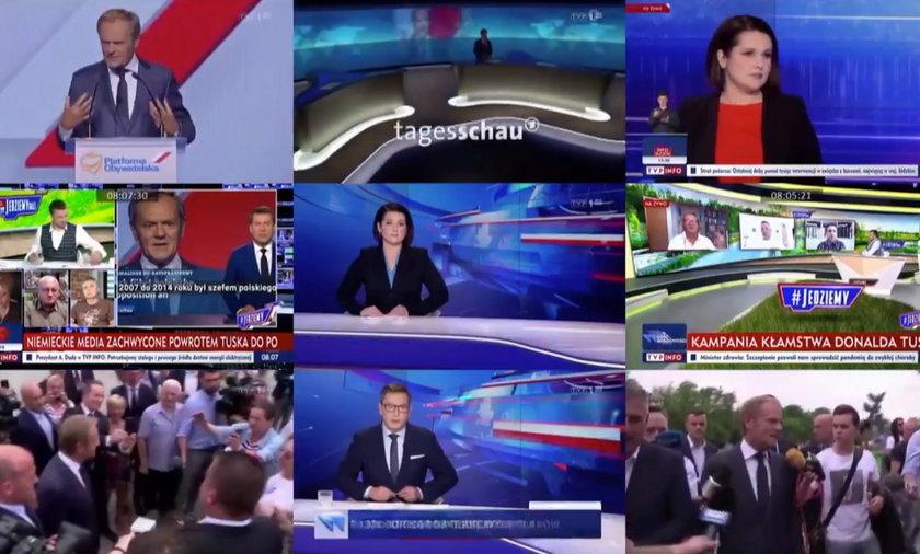 Fakty TVP pokazały, jak montowany jest program Wiadomości TVP.