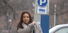 Sukces! Kinga Rusin wreszcie zapłaciła za parking