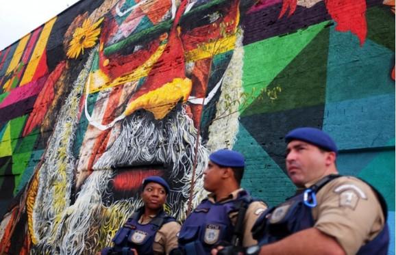 Brazilska policija ima pune ruke posla