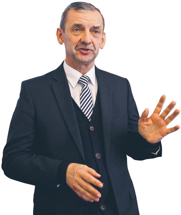 Sławomir Broniarz, od 1998 r. prezes Związku Nauczycielstwa Polskiego