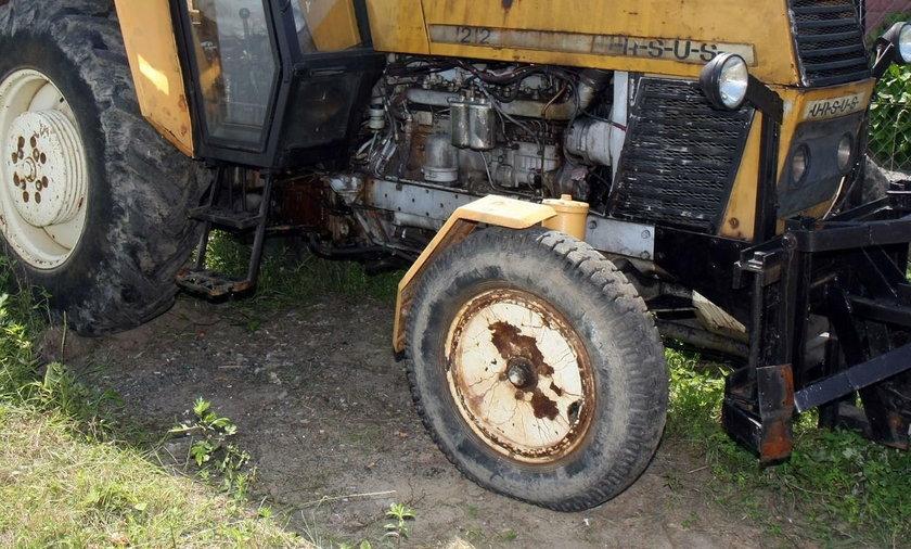 Mikołów. Tragiczny wypadek w czasie żniw. Traktor przygniótł dziadka i wnuka