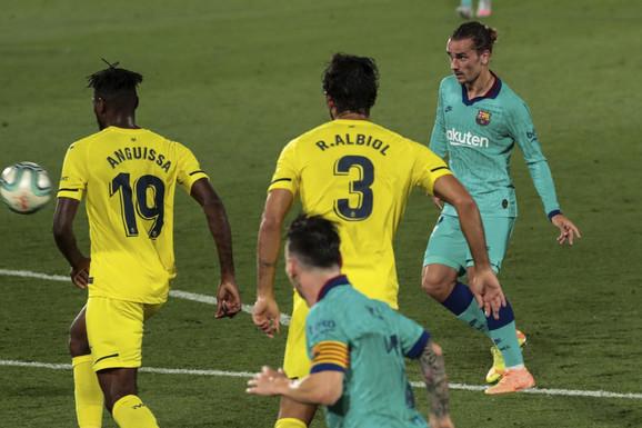 Antoan Grizman postiže prelep gol na utakmici Viljareal - Barselona