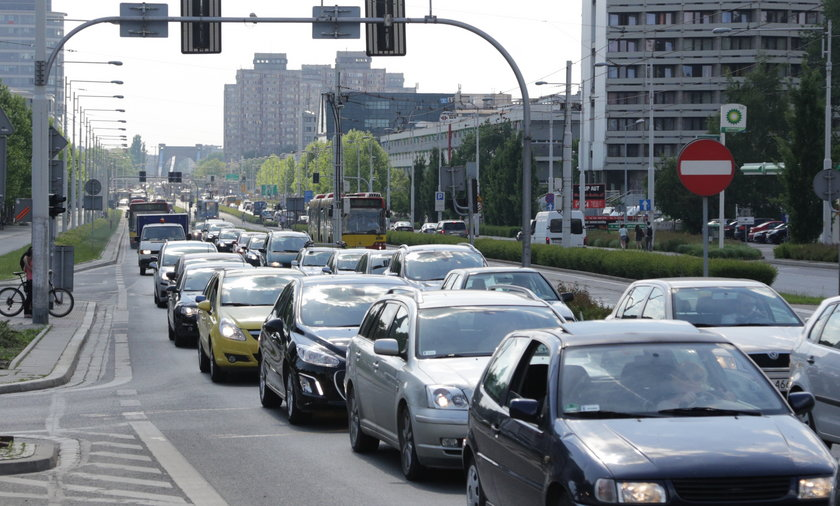 Korki we Wrocławiu.