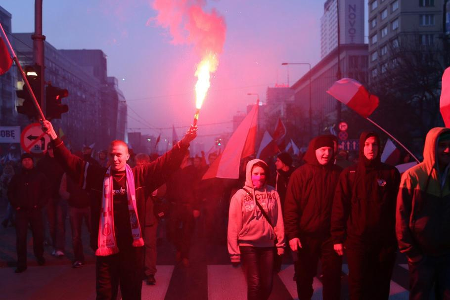 Demonstration at Polish National Independence Day
